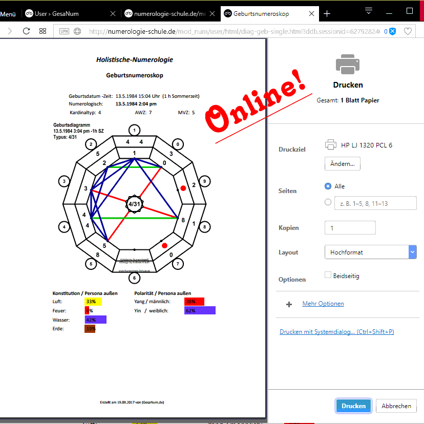 Diagramme online erstellen